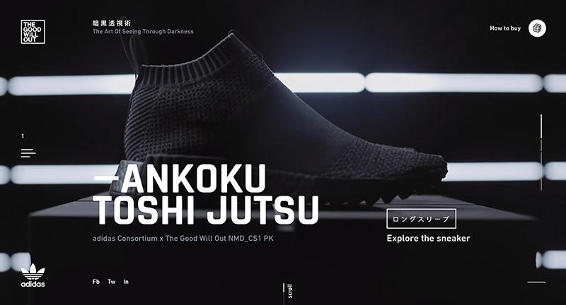 Ankoku Toshi Jutsu – Adidas   NICE!